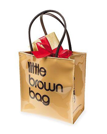 Bloomingdale S Little Brown Bag 100