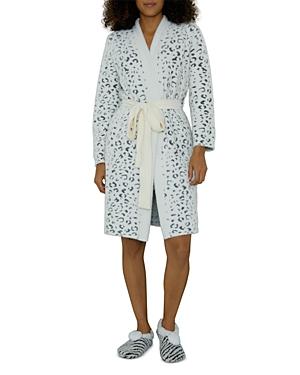 Snow Cheetah Robe