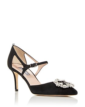 SJP by Sarah Jessica Parker - Women's Abute Embellished Pointed Toe Pumps
