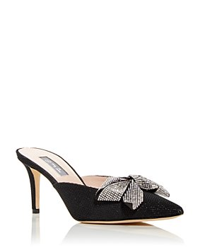 SJP by Sarah Jessica Parker - Women's Paley Embellished Pointed Toe Mules
