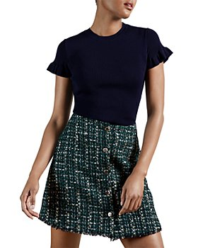 Ted Baker - Ruffled Cuff Top