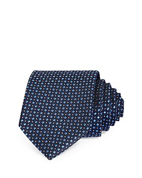 The Men's Store at Bloomingdale's - Squares & Dots Neat Silk Classic Tie - 100% Exclusive