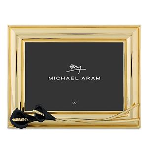 Michael Aram CALLA LILY MIDNIGHT 5 X 7 PICTURE FRAME