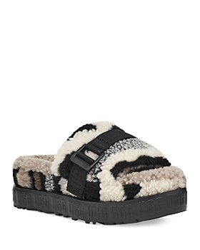 UGG® - Women's Fluffita Camouflage Faux Shearling Slippers