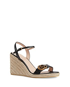 Gucci - Women's Aitana Espadrille Wedge Sandals