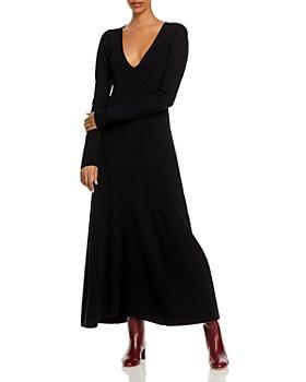 Rebecca Taylor - V Neck Puff Sleeve Dress