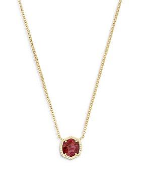 "Kendra Scott - Davie Short Pendant Necklace, 15"""
