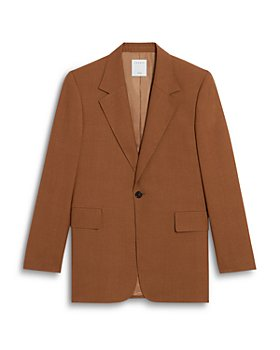 Sandro - Tabacco Virgin Wool Suit Jacket