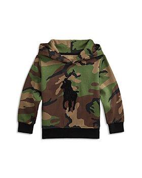 Ralph Lauren - Boys' Camouflage Logo Hoodie - Little Kid