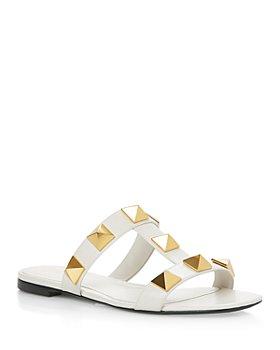 Valentino Garavani - Women's Roman Stud Slide Sandals