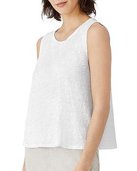 Eileen Fisher - Organic Linen Shell