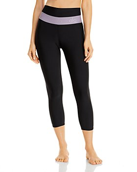 Alo Yoga - High Waist Cropped Leggings