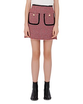 Maje - Tweed Mini Skirt