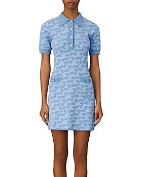 Maje - Roetic Jacquard Knit Dress