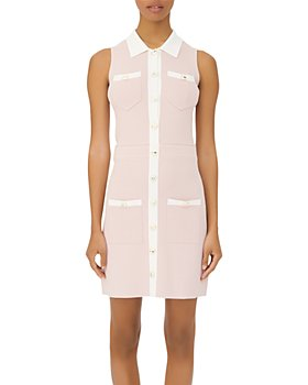 Maje - Revisto Knit Shirt Dress