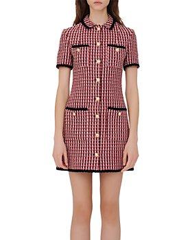 Maje - Renalt Tweed Shirt Dress