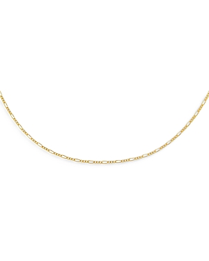 Adinas Jewels BABY FIGARO CHAIN CHOKER NECKLACE, 13