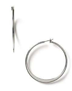 Lauren By Ralph Large Knife Edge Hoop Earrings Bloomingdale S 0