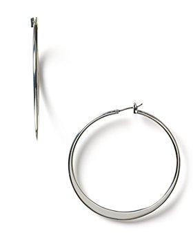 Ralph Lauren - Lauren Ralph Lauren Large Knife Edge Hoop Earrings