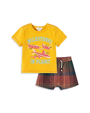 Peek Kids Boys' Dirk Take Flight Shorts Set - Baby