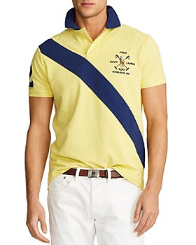 Polo Ralph Lauren - Color Block Custom Slim Fit Polo Shirt