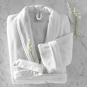 Matouk Velour Shawl Collar Robe-Home