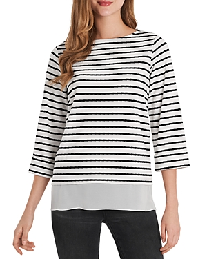 Vince Camuto Striped Knit Top