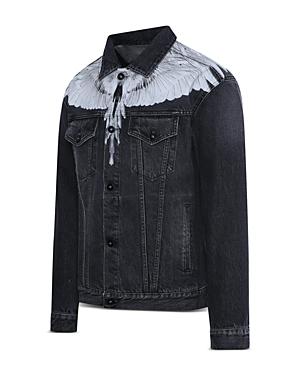 Wings Slim Denim Jacket