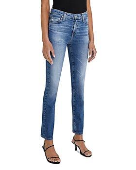 AG - Straight Leg Jeans in 15 Years Shoreline