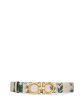 Salvatore Ferragamo - Women's Donna Floral Leather Belt