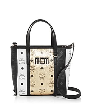MCM - Toni Visetos Mix Mini Shopper Crossbody