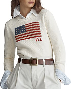 Ralph Lauren - Flag Cotton Sweater