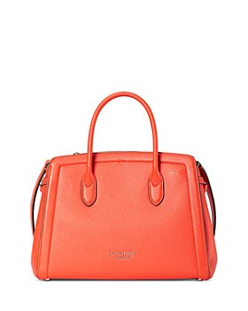 kate spade new york - Knott Medium Pebbled Leather Satchel