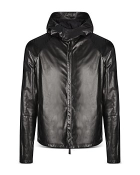 Armani - Shiny Leather Jacket