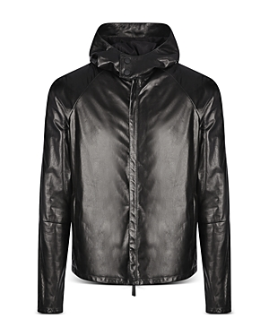 Shiny Leather Jacket