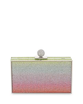 Sophia Webster - Clara Rainbow Crystal Box Clutch