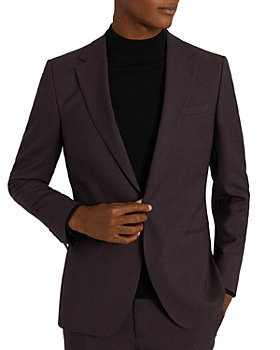 REISS - Lazer Micro Puppytooth Slim Fit Single Breasted Sport Coat