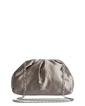 REISS - Ellena Satin Pouch Clutch Bag