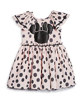 Pippa & Julie - Girls' Polka Dot Minnie Dress - Little Kid, Big Kid