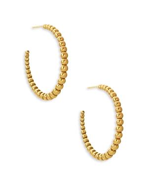 Kendra Scott Josie Tapered Bead Hoop Earrings