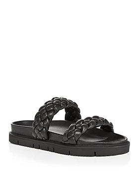 AQUA - Women's Braided Slide Sandals - 100% Exclusive