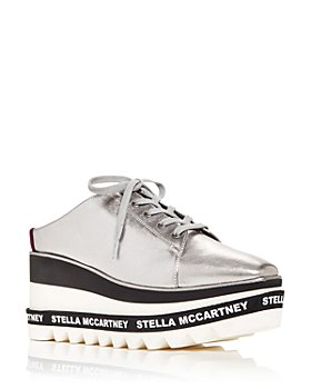 Stella McCartney - Women's Elyse Wedge Platform Mules