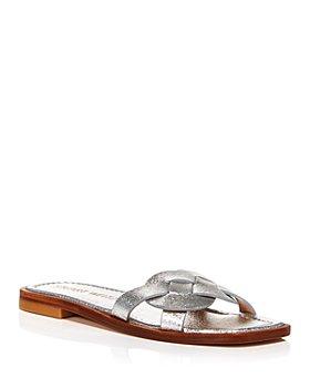 Stuart Weitzman - Women's Sierra Slip On Sandals