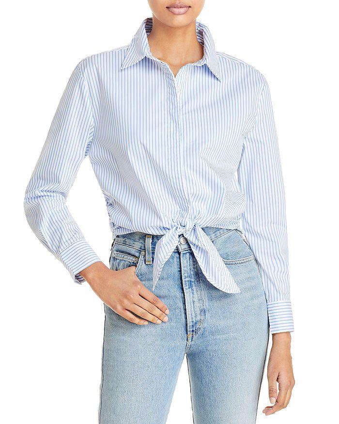 AQUA - Tie Hem Shirt