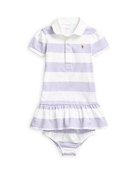 Ralph Lauren - Girls' Rugby Shirt Romper - Baby