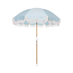 Business & Pleasure Holiday Beach Umbrella In Santorini Blue