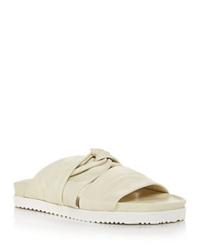3.1 Phillip Lim - Women's Twisted Strap Slide Sandals