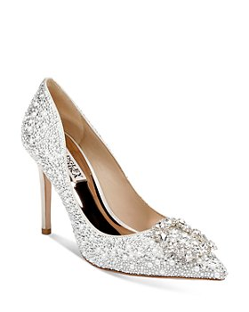 Badgley Mischka - Women's Cher II Embellished Pumps