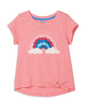 Hatley - Girls' Cotton Magical Rainbow Graphic Tee - Little Kid, Big Kid