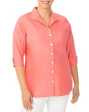 Pandora Non-Iron Cotton Tunic Shirt